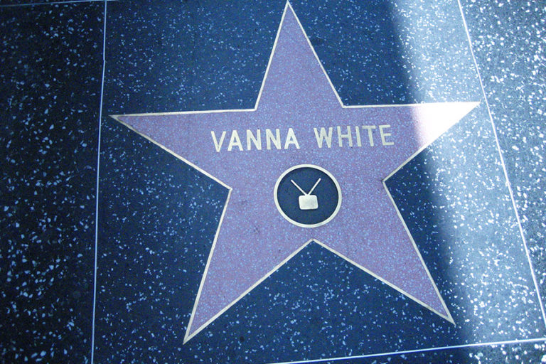 From San Gimignano to Hollywood with Vanna White