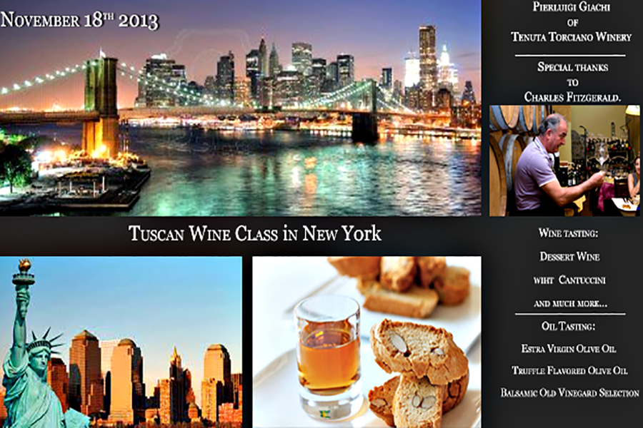 Wine Class Tour on November 18th 2013 in New York