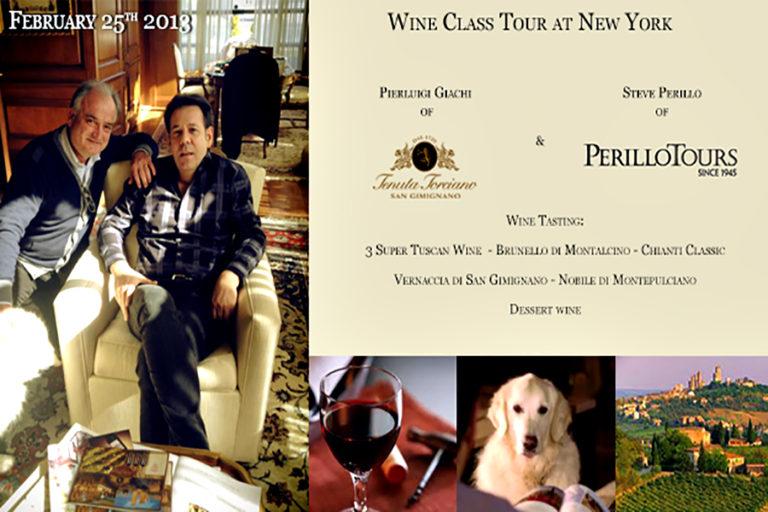 Lezioni di Vino Toscano con Perillo Tours – 25 Febbraio 2014
