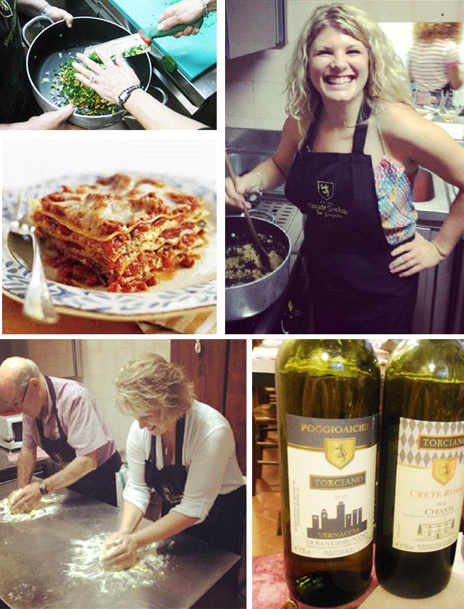 Toscana: terra di arte, cibo e vino.