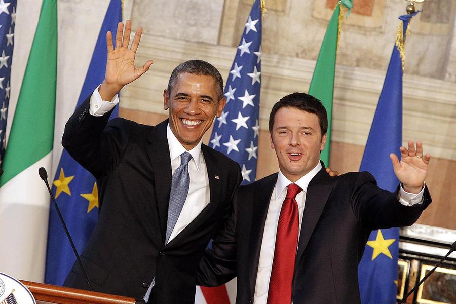 Obama Visit in Italy