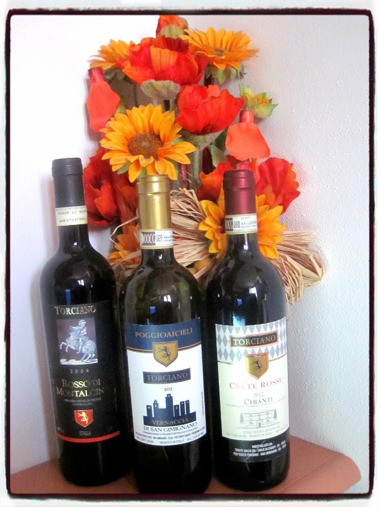 Nuova recensione per 3 grandi vini della Tenuta Torciano