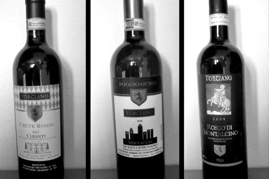 New review! 3 great wines of Torciano Winery