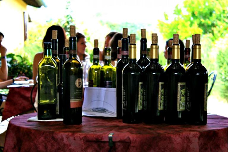 Apprezzando il vino presso la Tenuta Torciano