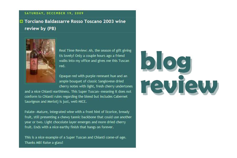 Super Tuscan Baldassarre review