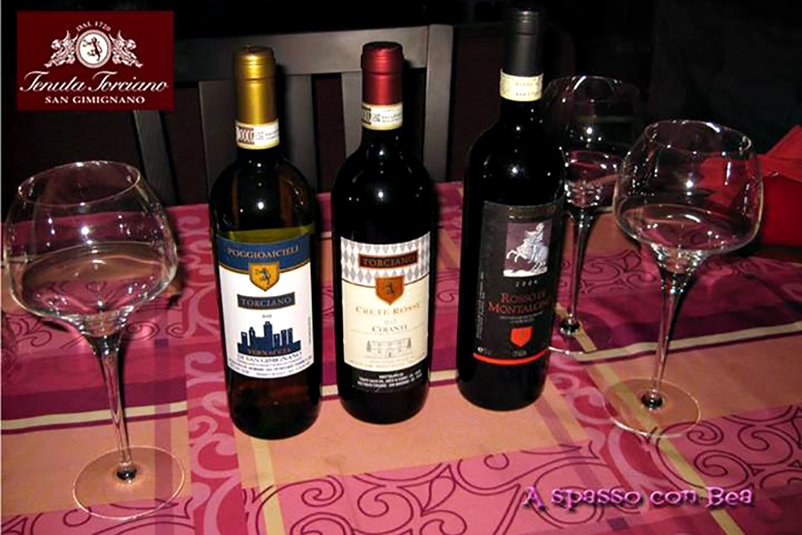 New review of Torciano winery: fine wine and beautiful places to visit