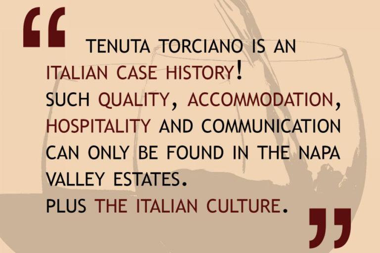 Il buon vivere italiano: mangiare bene, bere bene e amare la famiglia.