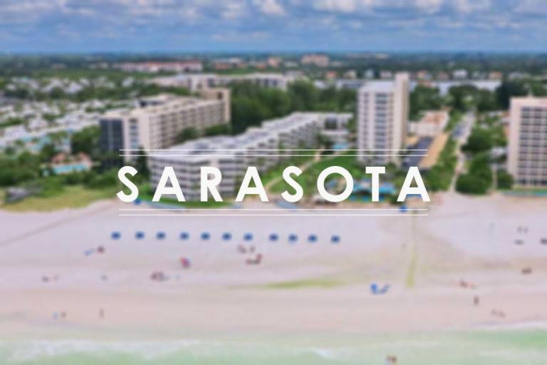 Tuscan wine in a beautiful American landscape: Sarasota