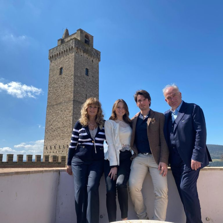 CHIGI PALACE:  How a family lives in a Tower at the time of the lockdown.