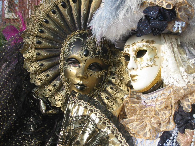 Celebrate Venice and the story becomes style