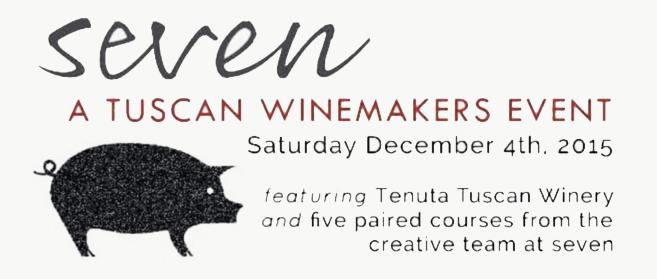 Winemaker Pierluigi da Seven per una degustazione di vino e olio