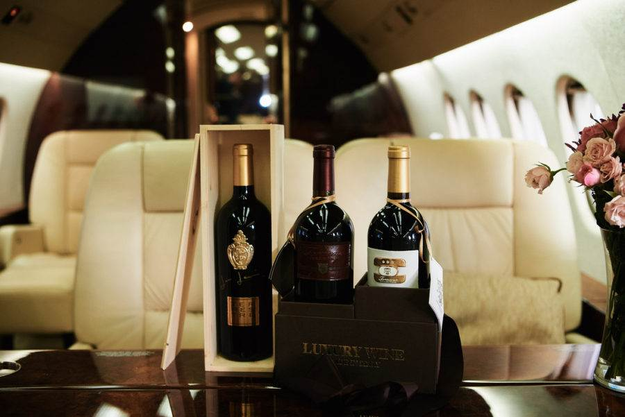 Luxury wines made in Italy