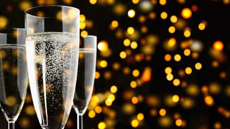 Sparkling wine and Prosecco to celebrate