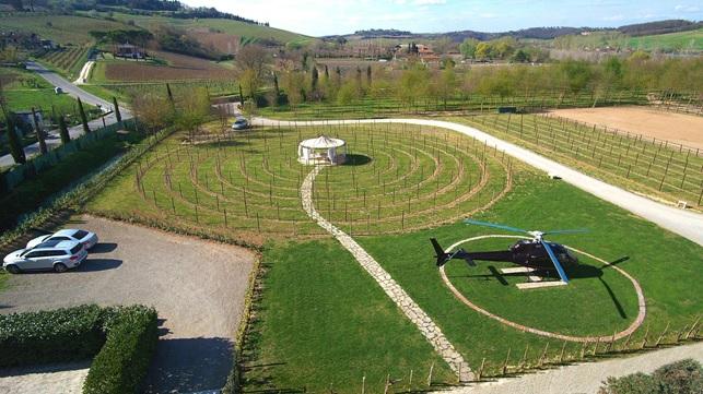 La cantina in Toscana, un ritorno alla natura