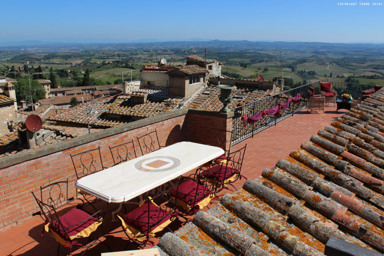 The most scenic terrace of Tuscany