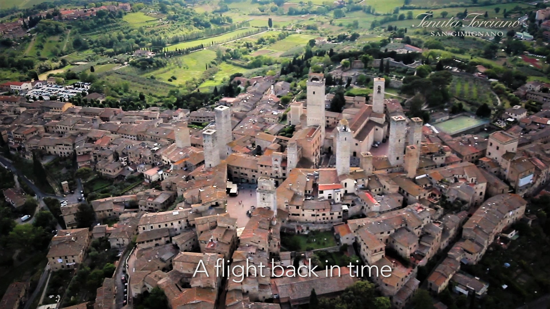 Flying with Luxury in Chianti