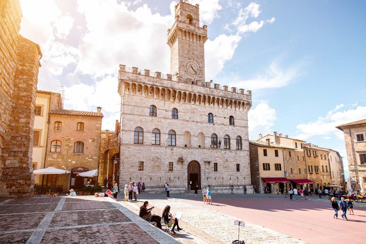 Montepulciano Piazza Grande