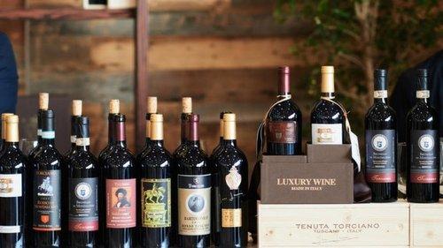 Un assaggio della Toscana durante le nostre Lezioni di  Vino negli Stati Uniti
