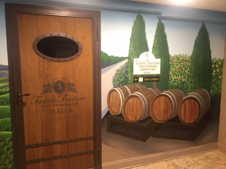 Personalized wine cellar with Tenuta Torciano