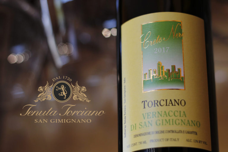 Ready for the new Vernaccia San Gimignano by Tenuta Torciano?