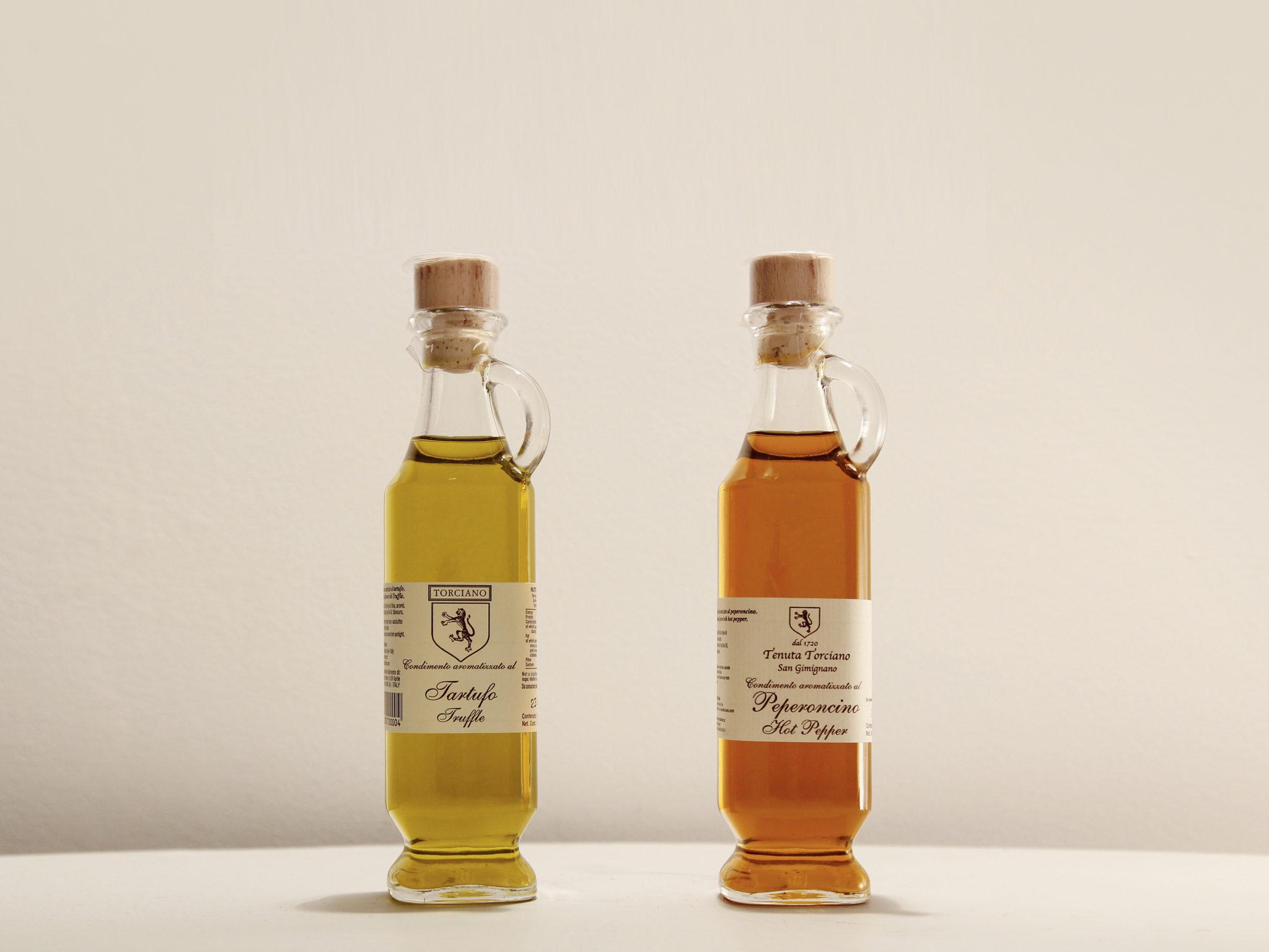 Flavored Oils: the gourmet seasonings