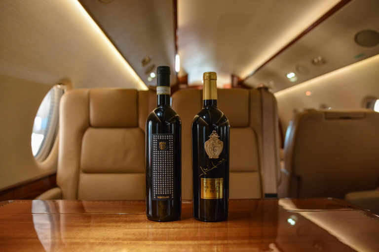 Flight To Luxury con il vino Torciano