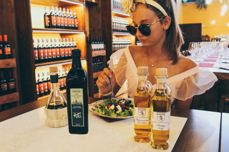 Autumn in Tuscany means new Extra Virgin Olive Oil