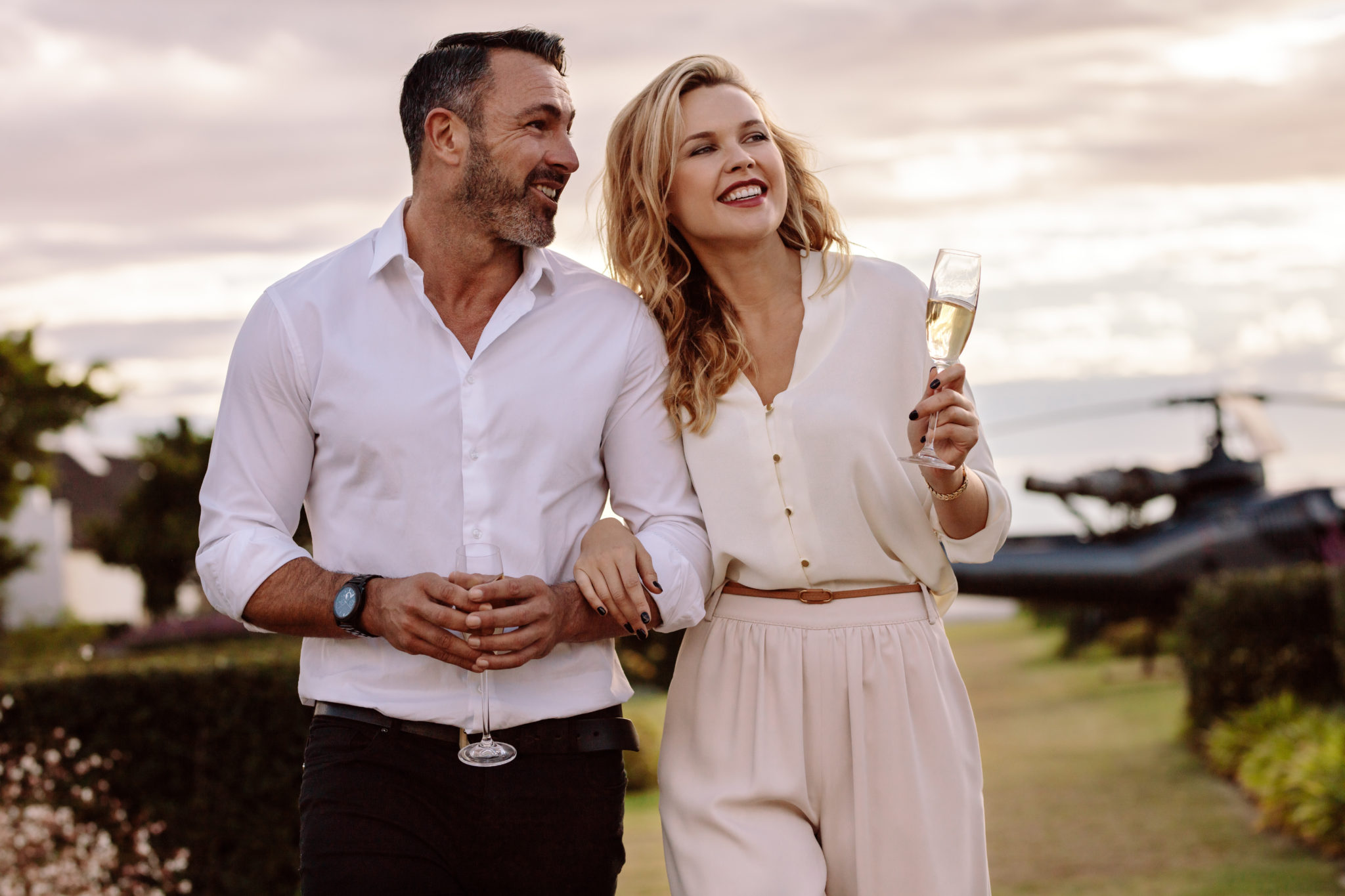 Propose in Style with our Helicopter Tour