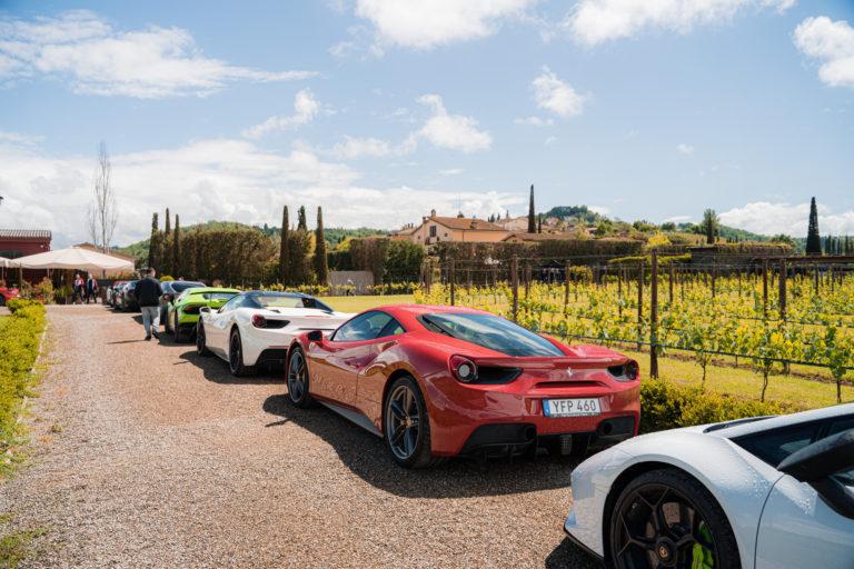 Gran Turismo Events in Tenuta Torciano