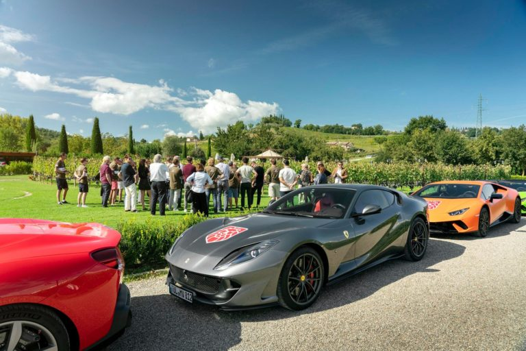 Super Cars & Wine Tasting in Tenuta Torciano Winery