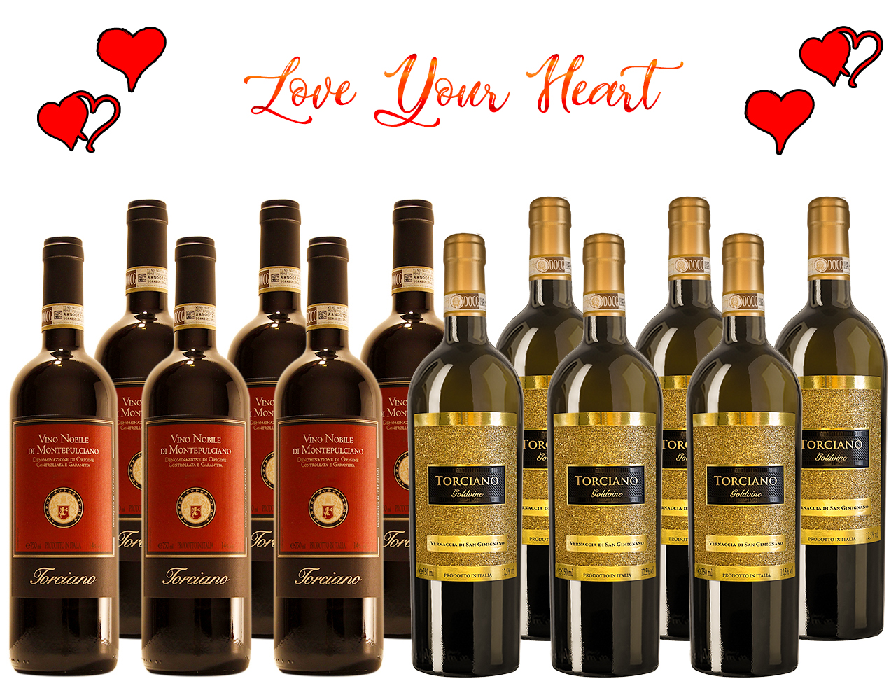 Romance Italian Wines for a Valentine's Day Tasting