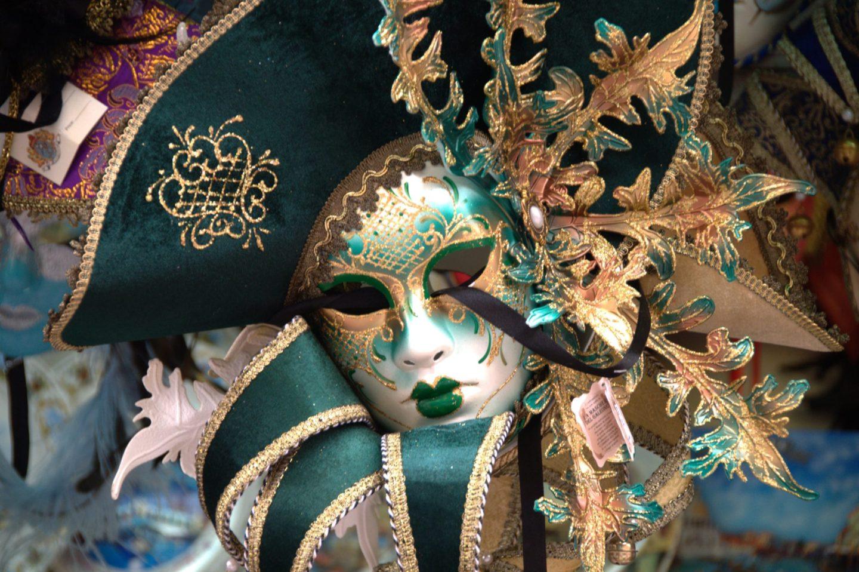 Venetian Carnival Mask   Maschera di Carnevale   Venice Italy   Creative Commons by gnuckx