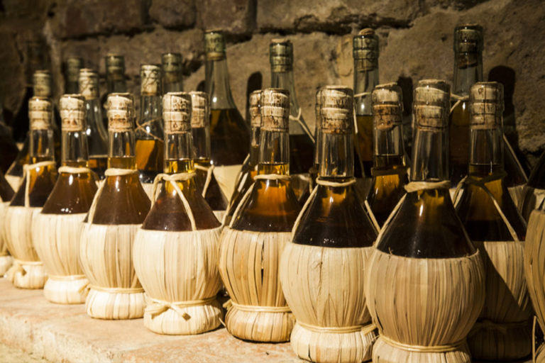 History of the Tuscan Flask