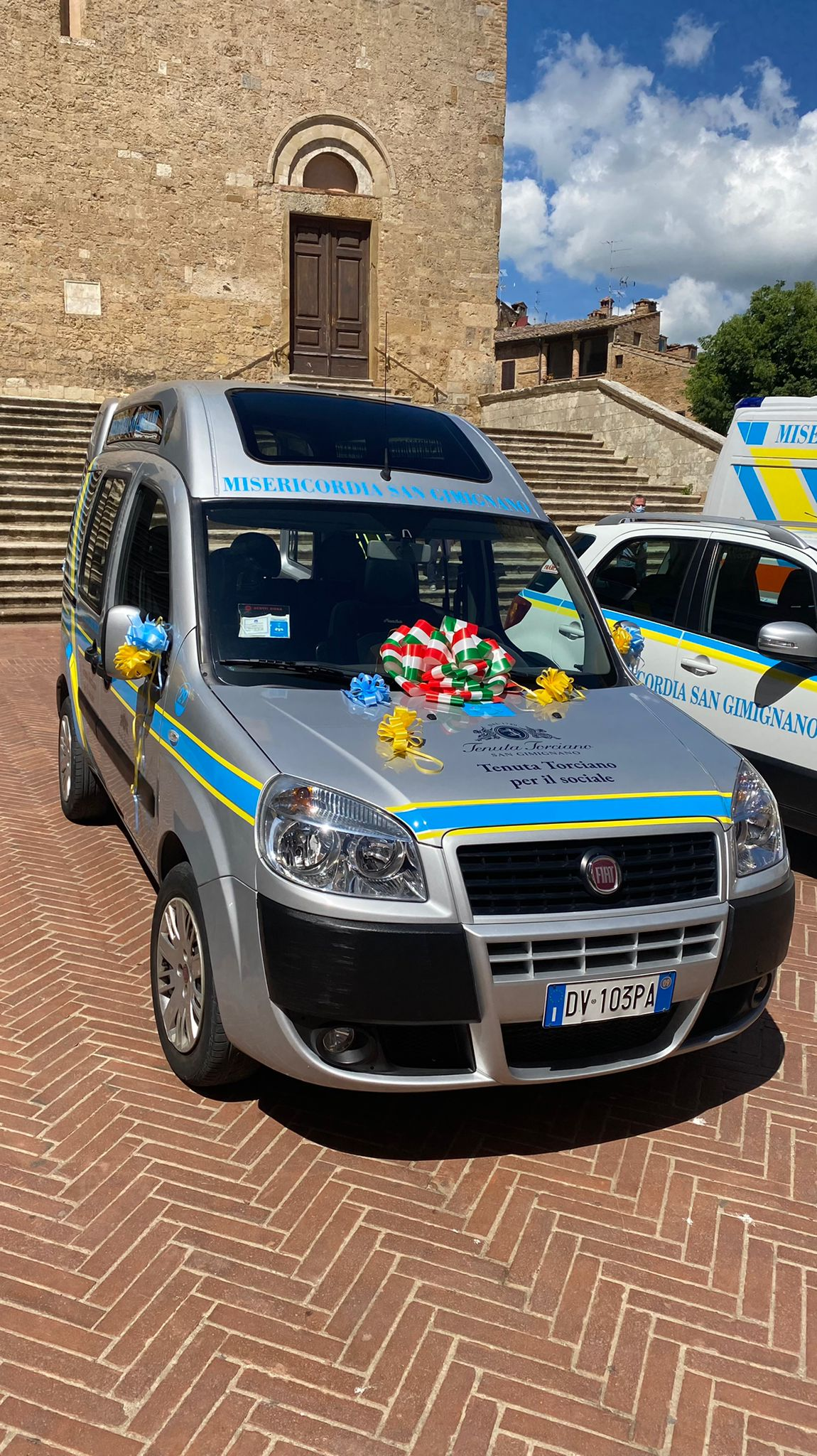 we have donated a special van