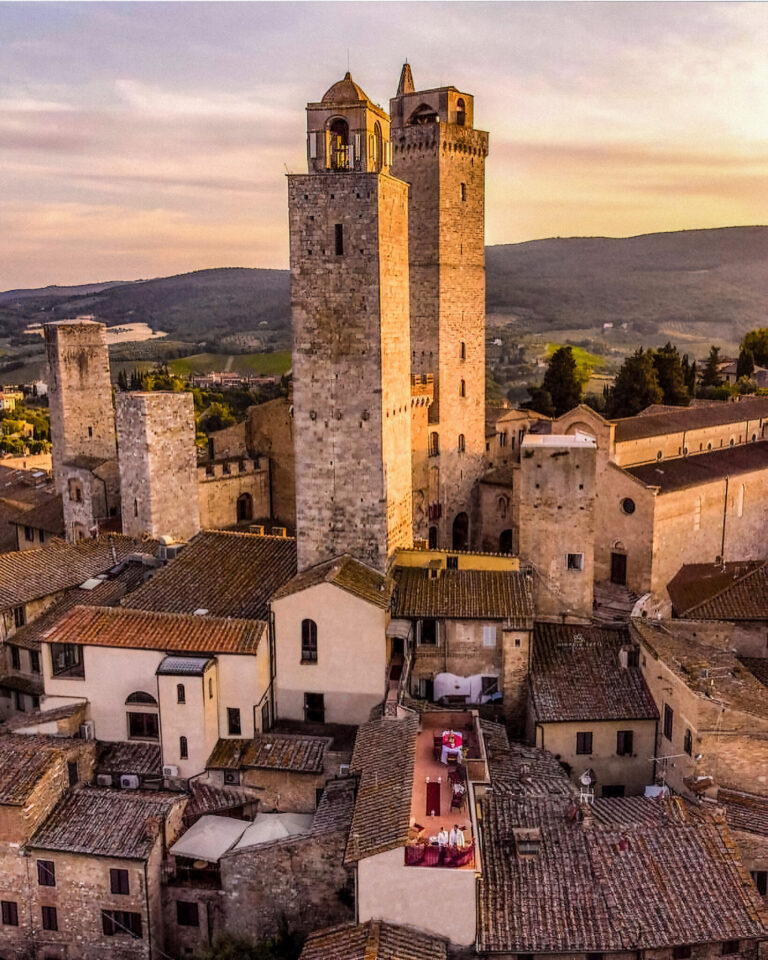 When of high-end Tuscan tourism may be rooted in the past.